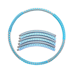 kueatily Hula-Hoop-Reifen Hula-Hoop-Reifen Erwachsene Hoola Hoop Reifen Fitness Gewichtsverlust Gewichtsverlust Reifen Hula Hoop blau