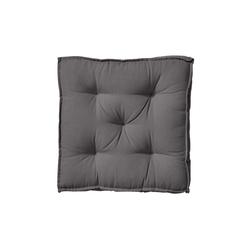 BUTLERS Sitzkissen SOLID Sitzkissen L 40 x B 40cm grau