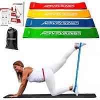 ActiveVikings Fitnessbänder Set 4-Stärken