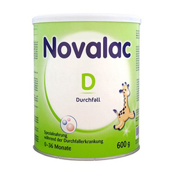 NOVALAC D Durchfall Spezialnahrung 0-36 Monate 600 g