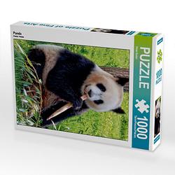 Panda Lege-Größe 48 x 64 cm Foto-Puzzle Bild von Peter Roder Puzzle