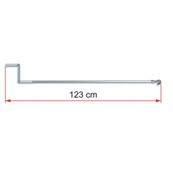 Fiamma Markisen Aluminium Handkurbel 123 cm