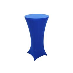 Stehtischhusse MCW-J30, MCW, Stretch, für Stehtische blau