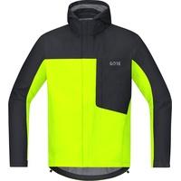 GORE WEAR C3 Gore-Tex Paclite Kapuzenjacke neon yellow/black L