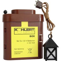 Kahlert Licht 20104 Krippenlaterne 4.5V mit Batterie-Box