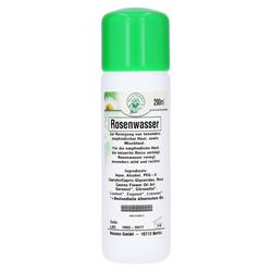 NATURKOSMETIK f.empf.Haut Rosenwasser 200 Milliliter
