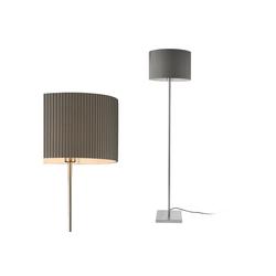 lux.pro Stehlampe, Stylische Stehleuchte Coimbra - Grau - 1x E27