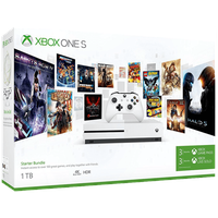 Microsoft Xbox One S 1TB weiß + 3 Monate Game Pass (Starter Bundle)