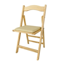 SoBuy Klappstuhl FST06 Stuhl Holzstuhl Küchenstuhl natur