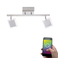 LED Deckenlampe Q-Vidal drehbar 2x 4, 80W RGBW