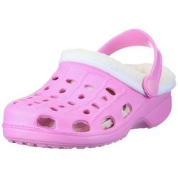 Playshoes EVA-Clogs gefüttert Baby + Kinder NEU Rosa 24/25