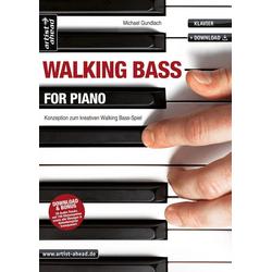 Walking Bass for Piano als Buch von Michael Gundlach