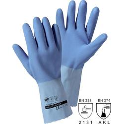L+D blauw latex 1489-M Naturlatex Arbeitshandschuh Größe (Handschuhe): 8, M EN 388 , EN 374 CAT II