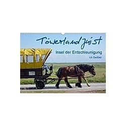 Töwerland Juist (Wandkalender 2021 DIN A3 quer)