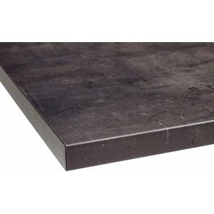 OPTIFIT Arbeitsplatte Luzern, 38 mm stark grau Zubehör Küchenmöbel Küche Ordnung