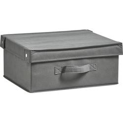 Aufbewahrungsbox »Faltbar« (1 Stück), Aufbewahrungsboxen, 17200126-0 grau 33x34x15 cm grau
