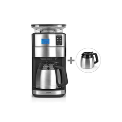 BEEM Filterkaffeemaschine, 1.25l Kaffeekanne, FRESH-AROMA-PERFECT II inkl. 2 Thermoskannen