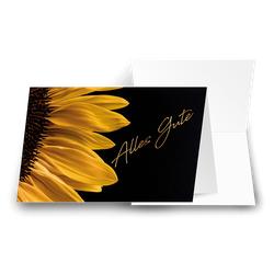 Grußkarte Faszination Blüte 'Alles Gute'