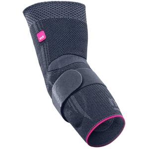 medi Epicomed - Ellenbogenbandage | silber | Größe IV | Kompressionsbandage zur Stabilisierung des Gelenks bei Tennisarm oder Golferarm | Beidseitig tragbar