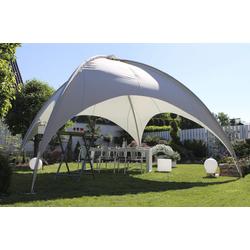 Leco Dach für Kuppelzelt,grau,5,0 x 5,0 m