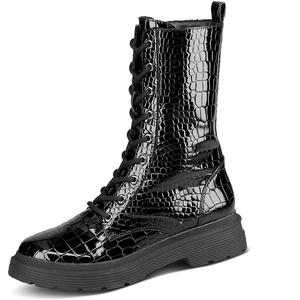 La Strada 1905773 - Damen Schuhe Stiefel - 1301-black-patent-cr, Größe:37 EU