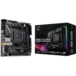 Asus ROG Strix B450-I Gaming Mainboard Sockel AMD AM4 Formfaktor Mini-ITX Mainboard-Chipsatz AMD® B