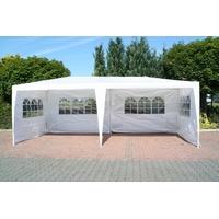 gd-world Pavillon 3 x 6 m inkl. Seitenteile weiß