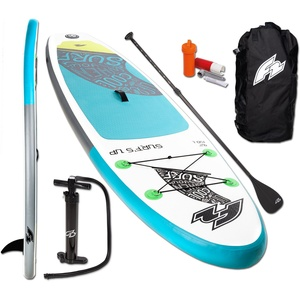 F2 Inflatable SUP-Board F2 Surf's Up Kids, (Set, 5 tlg) 9,2 - 280 cm