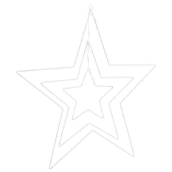 LED Stern Mobilé, Ø 60 cm, Batteriebetrieb
