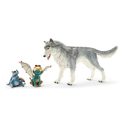 Schleich® Bayala 70710 Lykos, Nugur & Piuh Spielfiguren-Set