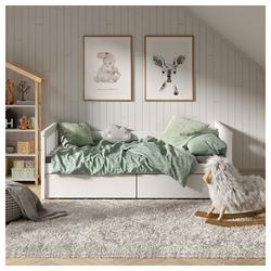 VitaliSpa® Kinderbett Tagesbett Luna 90x200cm Kojenbett Jugendbett Bettgestell