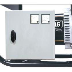 ELMAG Spannungs- und Stromstärkemessgerät 1x230V Voltmeter und Amperemeter V A 53333