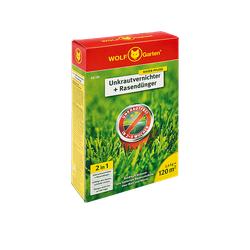 WOLF GARTEN SQ 120 Unkrautvernichter und Rasendünger Grün/Rot/Gelb
