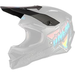 Oneal 3Series Speedmetal Helmschirm, schwarz