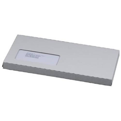 CD/DVD-Case Wellpappe mit Fenster Haftklebung weiß