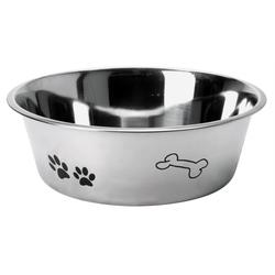 Hundenapf aus Edelstahl - Futternapf für Hunde 24,5 cm - 2 Liter