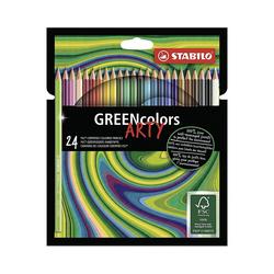 STABILO Buntstift Buntstifte GREENcolors ARTY, 24 Farben