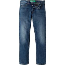United Colors of Benetton 5-Pocket-Jeans mit Knopfleiste blau 30