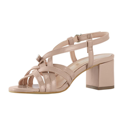 Sandalette in eleganter Form natur 38