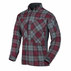Helikon Tex MBDU Flannel Shirt ruby plaid, Größe XL
