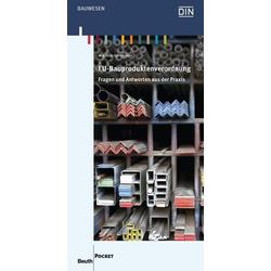 EU-Bauproduktenverordnung als Buch von Matthias Springborn