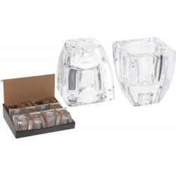 Teelicht-/Kerzenhalter (DH 6x7 cm)