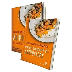 Ernährung bei Adipositas / Ernährungs-Wegweiser Adipositas, 2 Bde.