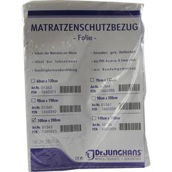 Matratzen Schutzbezug Folie 0,1 mm 100x200 cm Weiß