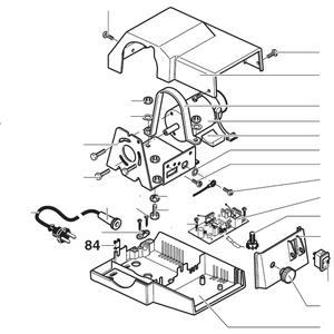 PROXXON 27090-84 Blechschraubenmutter für Dekupiersäge DSH/E 27090