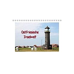 Ostfriesische Inselwelt (Tischkalender 2021 DIN A5 quer)