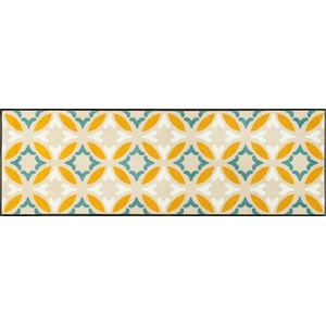 wash+dry Fußmatte, Viola 60x180 cm, innen und außen, waschbar