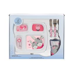 Sterntaler® Kindergeschirr-Set Geschirr-Set, Emmi Girl, 3-tlg rosa