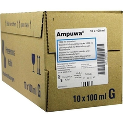 AMPUWA Glasflasche Injektions-/Infusionslösung 1000 ml