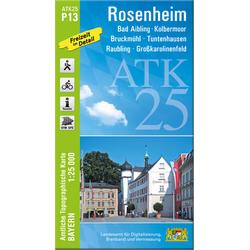Rosenheim 1 : 25 000